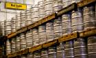 Kegs of Bud Light beer are stacked in the 100,000-square-foot facility at the Anheuser-Busch Sales of Oklahoma distributor in Oklahoma City. [Photo by Chris Landsberger, The Oklahoman]