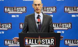 NBA commissioner Adam Silver opens All-Star press conference by sending condolences to Thunder assistant Monty Williams
