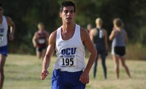 Arya Bahreini will be the youngest runner in Saturday's U.S. Olympic marathon trials. The Edmond Santa Fe alum has gone from a state champion to a national champion at Oklahoma City University to one of the best marathoners in the country in only four years.   [CONTRIBUTED PHOTO BY AUSTIN HANNON, OCUSPORTS INFORMATION]