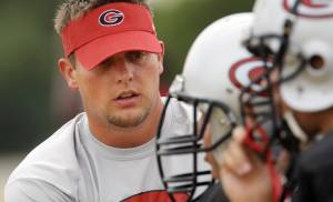 New U.S. Grant coach Matt Miller spent four years as an assistant at Little Axe. PHOTO BY NATE BILLINGS, THE OKLAHOMAN