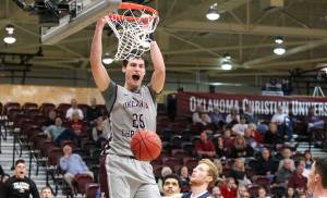 Oklahoma Christian's John Moon scores 50 in perfect 20 for 20 night