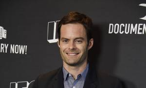 Video: Bill Hader talks Christmas couch fires, video game trash talk and more on 'Conan'