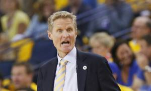 Golden State coach Steve Kerr said the Oklahoma City Thunder is a really good basketball team. (Photo by Nate Billings, The Oklahoman)