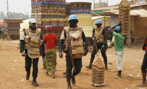 UN peacekeepers prepare for Central African Republic vote
