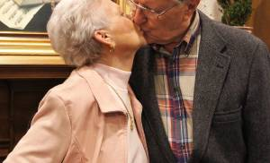 Gayle and Lee Bullock, of Oklahoma City, have been married for 64 years. [Photo provided]