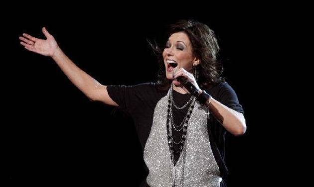 Martina McBride sings during a concert at the Ford Center on Saturday. &lt;strong&gt;SARAH PHIPPS - THE OKLAHOMAN&lt;/strong&gt;