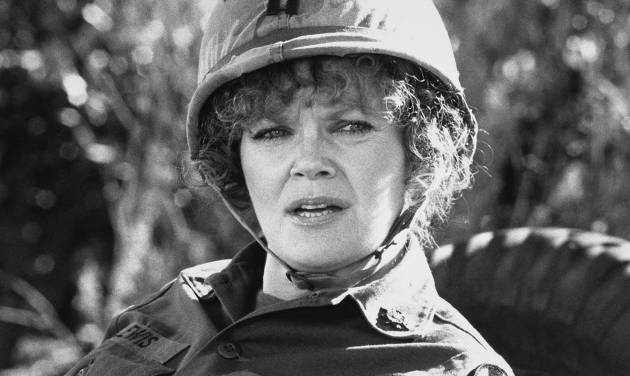 """FILE - In this 1980 file image released by Warner Brothers Pictures, actress Eileen Brennan as Capt. Doreen Lewis in a scene from, """"Private Benjamin.""""  Brennan's manager, Kim Vasilakis, says Brennan, died Sunday, July 28, 2013, in Burbank, Calif., after a battle with bladder cancer. She was 80.  (AP Photo/Warner Brothers Pictures, File)"""