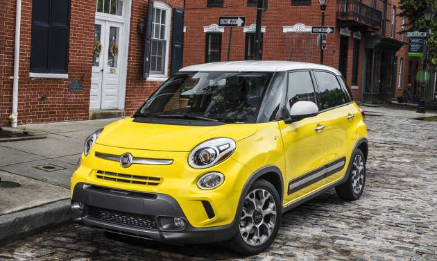 This undated image made available by Chrysler shows the 2014 Fiat 500L. (AP Photo/Chrysler)
