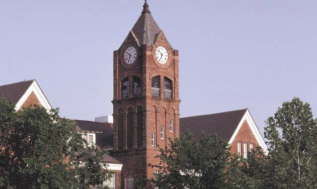 The University of Central Oklahoma clocktower, in Edmond. Oklahoman Photo