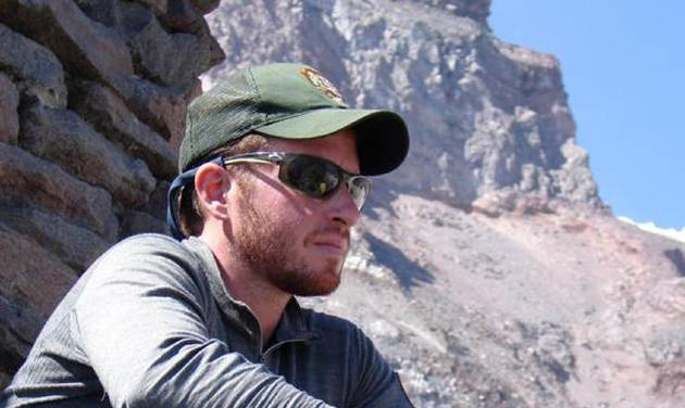 This undated photo provided by the National Park Service shows climbing ranger Nick Hall on Mount Rainier in Washington state. Hall, 33, was killed Thursday, June 21, 2012 as he was helping evacuate climbers from a crevasse near the summit of the 14,441-foot mountain. (AP Photo/National Park Service)