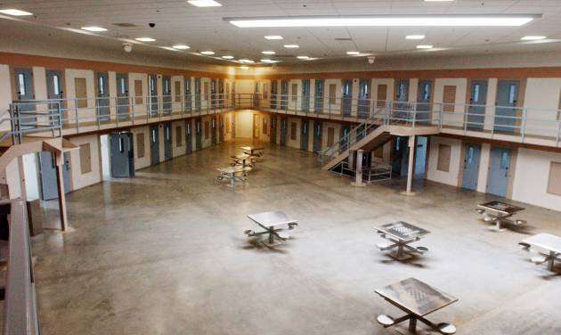 In this undated photograph provided by the U.S. Army is a commons area in the United States Disciplinary Barracks at Fort Leavenworth in Fort Leavenworth, Kan. Army Pfc. Bradley Manning, sentenced Wednesday Aug. 21, 2013, to 35 years in prison for giving hundreds of thousands of secret military and diplomatic documents to WikiLeaks, could be headed for hard time at Fort Leavenworth, home to the American military's most famous prison. (AP Photo/U.S. Army)