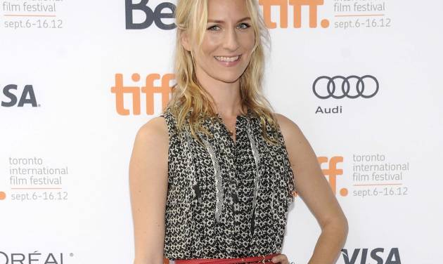 """FILE - This Sept. 7, 2012 file photo shows actress Mickey Sumner at the """"Imogene"""" premiere during the Toronto International Film Festival in Toronto. Sumner has signed up to make her off-Broadway debut in Craig Lucas's new comedy """"The Lying Lesson."""" The Atlantic Theater Company said Tuesday, Jan. 22, 2013, that Sumner, daughter of musician Sting and Trudie Styler will star opposite Carol Kane in the comic thriller. (Photo by Evan Agostini/Invision/AP, file)"""
