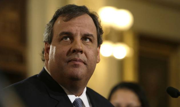 "New Jersey Gov. Chris Christie delivers his State Of The State address at the Statehouse, Tuesday, Jan. 14, 2014, in Trenton, N.J.  Christie apologized again Tuesday, saying his administration ""let down the people we are entrusted to serve"" but that it doesn't define his team or the state.  (AP Photo/Julio Cortez)"