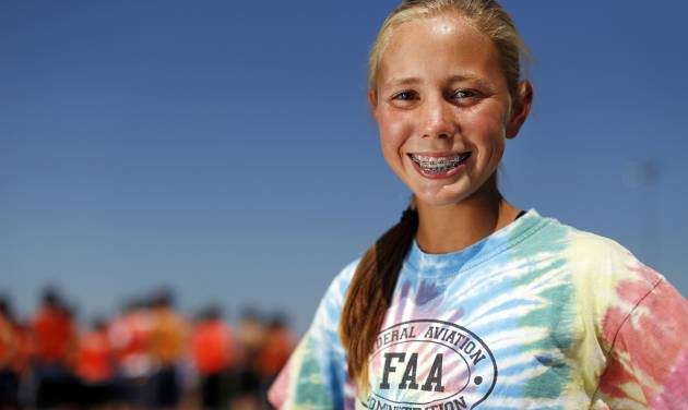 After struggling in last year's state championship meet, Edmond North runner Jaci Smith has gotten off to a strong start this season.  Photo by Nate Billings, The Oklahoman
