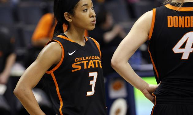 Oklahoma State's Tiffany Bias said the Cowgirls are looking forward to playing someone new after the grind of the Big 12 season.
