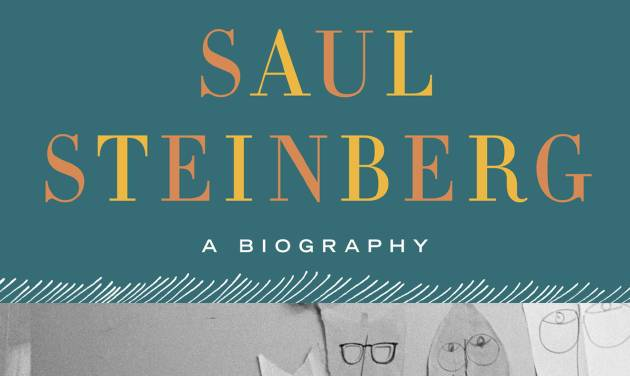 """This book cover image released by Doubleday/Nan A. Talese shows """"Saul Steinberg: A Biography,"""" by Deirdre Bair. (AP Photo/Doubleday/Nan A. Talese)"""