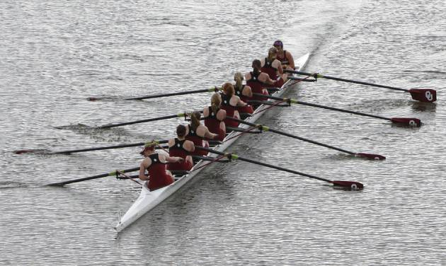 The American Collegiate Rowing Association Championships begin today on the Oklahoma River. OKLAHOMAN FILE PHOTO