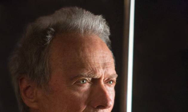 "This photo released by Warner Bros. shows director/producer, Clint Eastwood, on the set of Warner Bros. Pictures' musical ""Jersey Boys,"" a Warner Bros. Pictures release. (AP Photo/Warner Bros. Pictures, Keith Bernstein)"