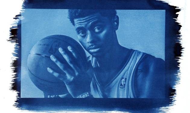 Guard Jeremy Lamb is only 21 but will see considerable minutes this year. Photo by Chris Landsberger/Cyanotype print by Nate Billings, The Oklahoman