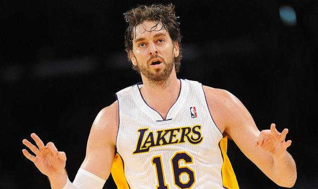 """Pau Gasol is reportedly now a """"long shot"""" to land in Oklahoma City. (Photo by Noah Graham/NBAE via Getty Images)"""