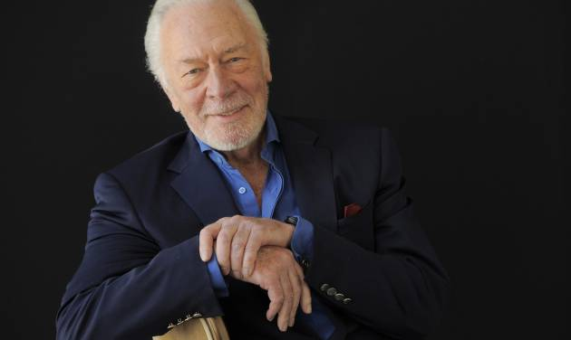 """FILE - In this July 25, 2013, file photo, Christopher Plummer, a cast member in the HBO film """"Muhammad Ali's Greatest Fight,"""" poses for a portrait at the Beverly Hilton Hotel in Beverly Hills, Calif. The drama about the Supreme Court decision on the boxer's conscientious objector status, debuts Saturday, Oct. 5, 2013, on HBO and stars Plummer, Frank Langella and Benjamin Walker. (Photo by Chris Pizzello/Invision/AP, File)"""