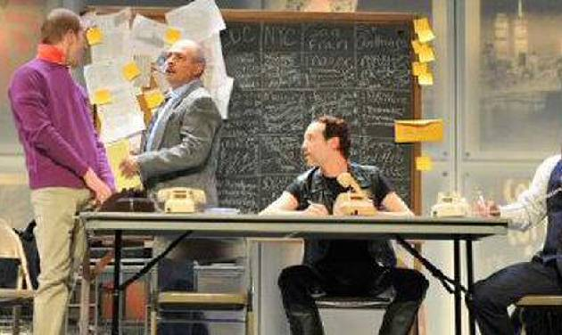 """Brian Hamilton, Michael Corolla and Scotty Taylor appear in Larry Kramer's Tony-award-winning drama """"The Normal Heart,"""" making its Oklahoma premier this weekend at City Rep. Photo provided"""