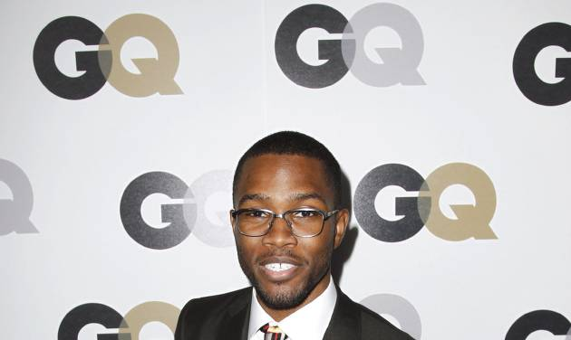"""FILE - In this Nov. 17, 2011 file photo, Frank Ocean arrives at the 16th annual GQ """"Men of the Year"""" party in Los Angeles. On Wednesday, July 4, 2012, Ocean, the rising and highly acclaimed singer revealed on his website that his first love was a man. (AP Photo/Matt Sayles, File)"""