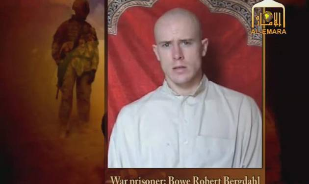 FILE - This image from video made available by IntelCenter shows a Taliban propaganda video released Friday, Dec. 25, 2009 purportedly showing U.S. soldier Bowe Bergdahl who was captured over five months earlier in eastern Afghanistan. The man identifies himself as Bergdahl, born in Sun Valley, Idaho, and gives his rank, birth date, blood type, his unit and mother's maiden name before beginning a lengthy verbal attack on the U.S. conduct of the war in Afghanistan and its relations with Muslims. (AP Photo/IntelCenter)