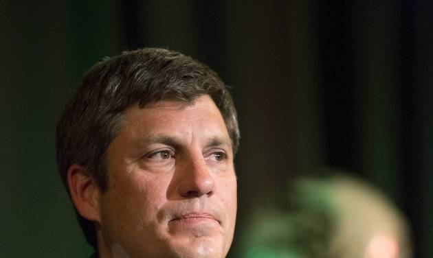 Chicago White Sox manager Robin Ventura speaks during the baseball team's SoxFest annual fan convention, Friday, Jan. 24, 2014, in Chicago. (AP Photo/Andrew A. Nelles)