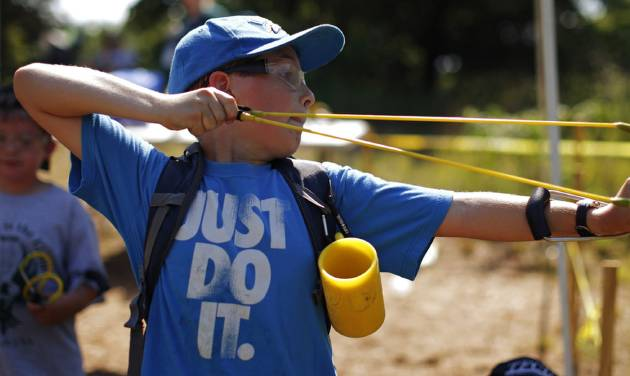 Oklahoma youths find adventure at day camp offered by faith-based Scouts-like group