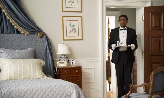 """FILE - This film image released by The Weinstein Company shows Forest Whitaker as Cecil Gaines in a scene from """"Lee Daniels' The Butler."""" (AP Photo/The Weinstein Company, Anne Marie Fox, File)"""