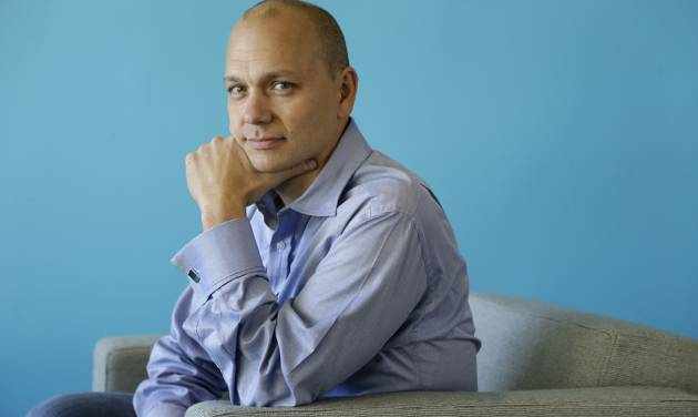 FILE - In this Tuesday, Oct.  1, 2013, file photo, Tony Fadell, Founder and CEO of Nest, poses for a portrait in the company's offices in Palo Alto, Calif. Google said Monday, Jan. 13, 2014, it will pay $3.2 billion to buy Nest Labs, which develops high-tech versions of devices like thermostats and smoke detectors.  (AP Photo/Marcio Jose Sanchez)