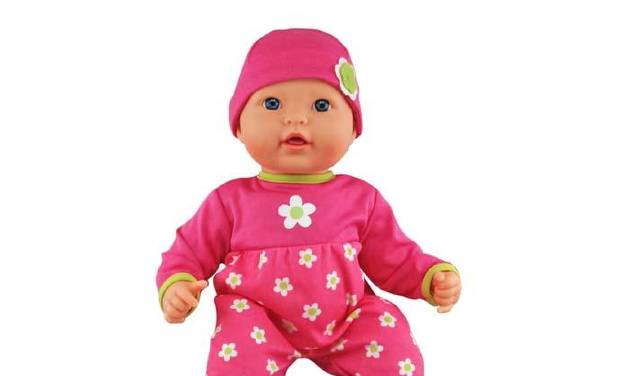 This undated image provided by the The U.S. Consumer Product Safety Commission shows a  My Sweet Love Baby Doll. The line of electronic dolls sold at Wal-Mart with a circuit board that can overheat are among this week's recalled products. Others include faulty LED lights and bulbs. (AP Photo/The U.S. Consumer Product Safety Commission)