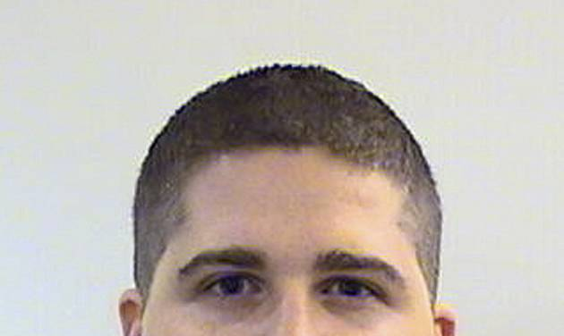 FILE - This undated file photo provided by the Middlesex District Attorney's Office shows Massachusetts Institute of Technology Police Officer Sean Collier, 26, of Somerville, Mass., who was shot to death Thursday, April 18, 2013 on the school campus in Cambridge, Mass. Stephen Silva, a friend of Boston Marathon bombing suspect Dzhokhar Tsarnaev, was arrested Tuesday, July 22, 2014, and is believed to have provided the handgun used to kill Collier. (AP Photo/Middlesex District Attorney's Office, File)