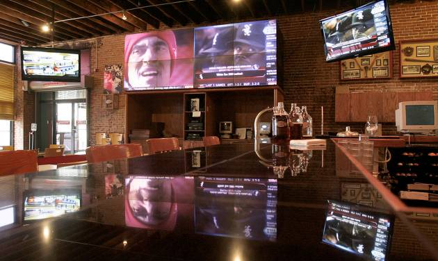 Coach's Brewhouse in downtown Norman will be one of the places where University of Oklahoma football fans get together to watch tonight's 2009 FedEx BCS National Championship Game, when OU takes on University of Florida in Miami. PHOTOS BY STEVE SISNEY, THE OKLAHOMAN