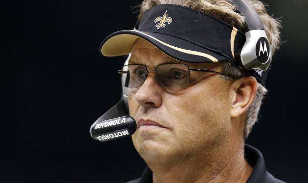 FILE - In this Sept. 26, 2010, file photo, New Orleans Saints defensive coordinator Gregg Williams appears during an NFL football game against the Atlanta Falcons at Mercedes-Benz Superdome in New Orleans. Former New Orleans coordinator Williams said at an appeals hearing in the Saints bounty case that he tried to shut down the team's pay-for-pain system when the NFL began investigating but was overruled by current Saints head coach Joe Vitt, according to transcripts of the session that were obtained by The Associated Press on Wednesday, Dec. 12, 2012. (AP Photo/Gerald Herbert, File)