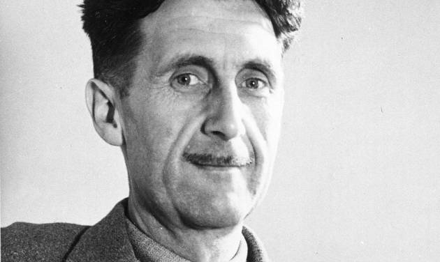 """FILE - This undated file photo shows writer George Orwell, author of """"1984."""" The literary executor of George Orwell's estate is accusing Amazon.com of quoting Orwell out of context. In a letter published this week in The New York Times, Bill Hamilton criticized Amazon for """"turning the facts inside out"""" by alleging that Orwell had urged publishers in the 1930s to jointly oppose paperbacks. The retailer cited an Orwell essay in which he wrote that """"if publishers had any sense,"""" they would """"combine against"""" and """"suppress"""" paperbacks. Amazon and Hachette Book Group have been locked in a nasty standoff over terms for e-book sales. (AP Photo, File)"""