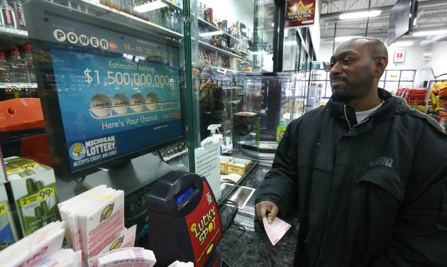 Powerball jackpot will hit $2 billion if victor isn't drawn