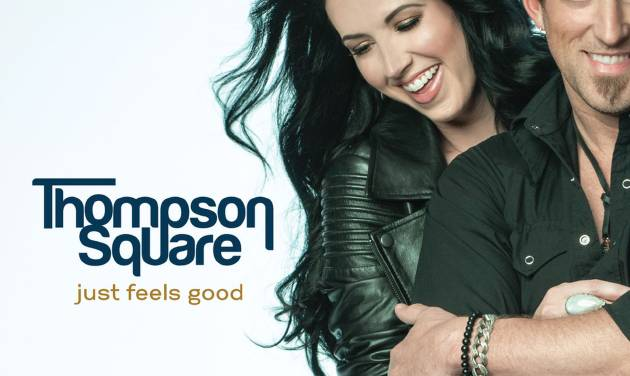 """This CD cover image released by Stoney Creek shows """"Just Feels Good,"""" by Thompson Square. (AP Photo/Stoney Creek)"""