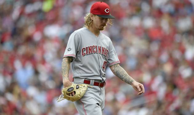After Strasburg leaves no-hit bid, Reds get single in 8th