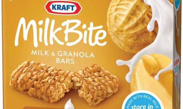 FILE - This undated file photo provided by Kraft Foods Inc., shows a box of peanut butter Kraft Milk Bite, milk and granola bars. Kraft Foods expects fourth-quarter adjusted earnings above analysts' current estimates, but it foresees lower revenue than a year ago. The U.S.-based company, whose brands include Oscar Mayer and Miracle Whip, also raised its 2013 earnings forecast Friday, Feb. 15, 2013. (AP Photo/Kraft Foods Inc., File)