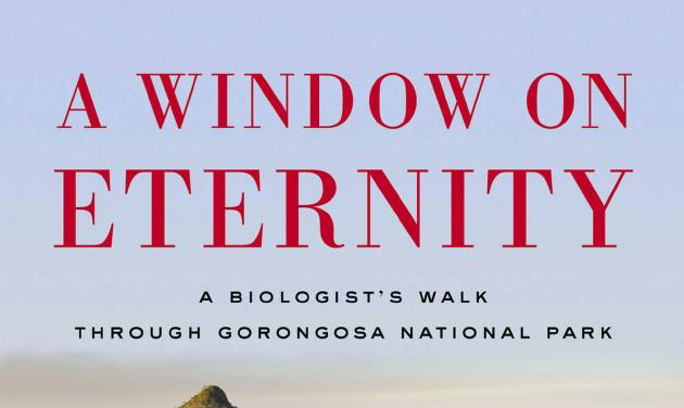 """This book cover image released by Simon & Schuster shows """"A Window on Eternity: A Biologist's Walk Through Gorongosa National Park,"""" by Edward O. Wilson. (AP Photo/Simon & Schuster)"""