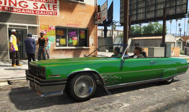 "FILE - This publicity photo released by Rockstar Games shows a screen shot from the video game, ""Grand Theft Auto V."" Spike is dispensing with all the trappings of a typical award show for its 11th annual ceremony honoring the year's best video games by doing away with the ceremony part altogether, instead opting for a live-streaming affair with a focus on upcoming games. Nominees include, ""BioShock Infinite,"" ""Grand Theft Auto V,"" ""Super Mario 3D World,"" ""The Last of Us,"" and ""Tomb Raider."" (AP Photo/Rockstar Games, File)"