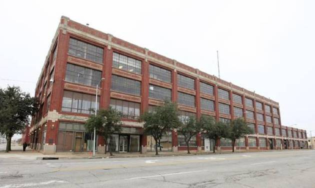 The former Fred Jones assembly plant in the 900 block of W Main Street in Oklahoma City Thursday, Nov. 21, 2013. Photo by Paul B. Southerland, The Oklahoman
