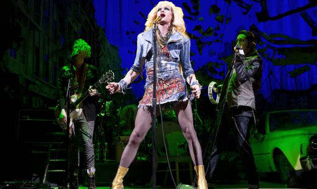 """FILE - This file image released by Boneau/Bryan-Brown shows Neil Patrick Harris in a scene from """"Hedwig and the Angry Inch,"""" at the Belasco Theatre in New York. """"Hedwig and the Angry Inch,"""" a cult off-Broadway hit, won eight Tony nominations on Tuesday, April 29, 2014. (AP Photo/Boneau/Bryan-Brown, Joan Marcus, File)"""