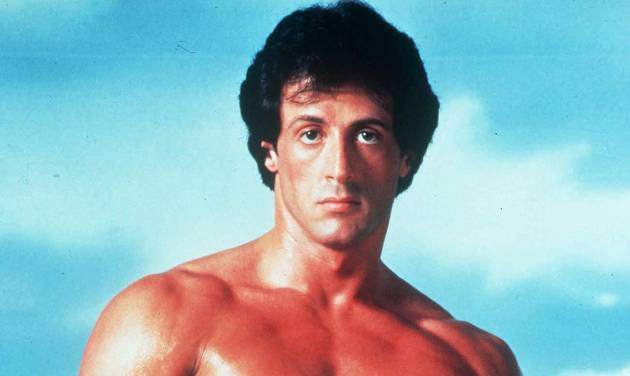 "This undated publicity image originally released by United Artists shows Sylvester Stallone posing in character as Rocky Balboa in the boxing film, ""Rocky."" It's been a knock-out in Germany. Now Stallone hopes a musical based on his beloved boxing film ""Rocky"" will also be a hit on Broadway. Producers say they hope to get ""Rocky"" up and punching at the Winter Garden by February following a successful debut in Hamburg last fall. Based on the Oscar-winning 1976 film, the musical features a score by ""Ragtime"" veterans Stephen Flaherty and Lynn Ahrens, and a story by Thomas Meehan, who wrote ""The Producers"" and ""Hairspray.""  (AP Photo/United Artists)"