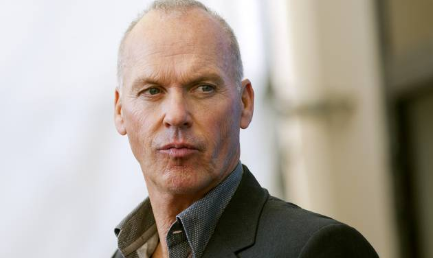 Actor Michael Keaton poses during a photo call for the movie Birdman at the 71st edition of the Venice Film Festival in Venice, Italy, Wednesday, Aug. 27, 2014. (AP Photo/Andrew Medichini)