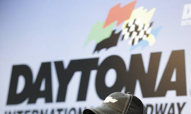 NASCAR driver Tony Stewart answers questions at a news conference during Sprint Cup auto racing testing at Daytona International Speedway in Daytona Beach, Fla., Thursday, Jan. 9, 2014.(AP Photo/John Raoux)
