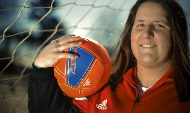 Former soccer player Lauren Long's series of concussions that have left her with memory and concentration problems that she will never recover from.  Photo by Chris Landsberger, The Oklahoman