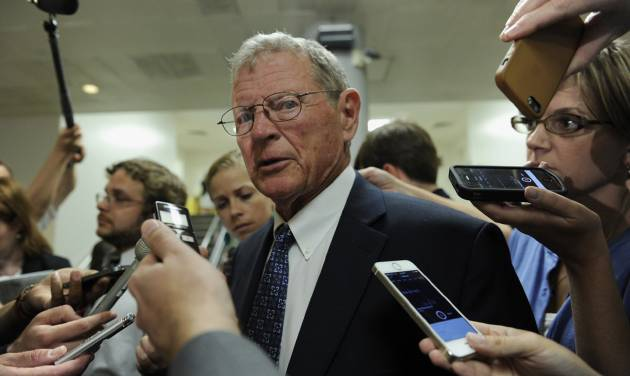 Sen. Jim Inhofe The Oklahoma lawmaker applauded Wednesday's agreement to continue Department of Defense surplus vehicle sales to rural fire departments.  Susan Walsh